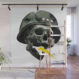 General's Skull Wall Mural
