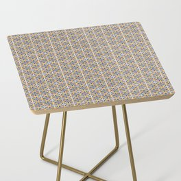 Seamless tile pattern Side Table