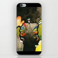 captain iPhone & iPod Skins featuring Captain by Ecsentrik