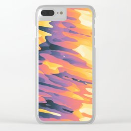 Plasmic Ejection // 67c Clear iPhone Case