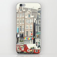 After The Rain - Amsterdam iPhone Skin