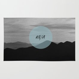 Fine mountains lines - #N/A Rug