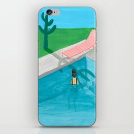 Time to relax iPhone Skin