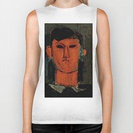 """Amedeo Modigliani """"Portrait de Picasso"""" Biker Tank"""