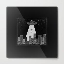 Alien Boy Metal Print