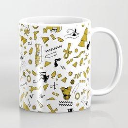 Egyptian Mini Hieroglyphics Coffee Mug