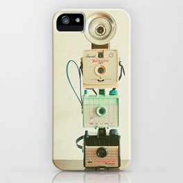 Tower of Cameras iPhone Case