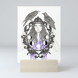 Crow Moon Mini Art Print