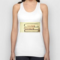 anaconda Tank Tops featuring Read Books by Olivia Joy StClaire
