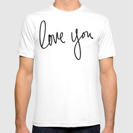 Love You x Orange Floral T-shirt