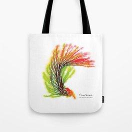 Tillandsia Funckiana Air Plant Watercolors Tote Bag