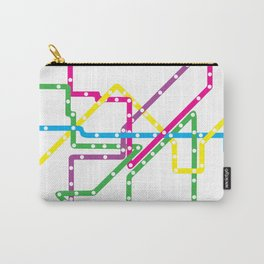 Chicago El Route 1 Carry-All Pouch