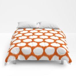 Persimmon Asian Moods Ikat Dots Comforters