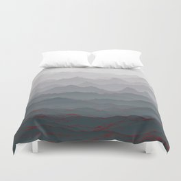 Mountains of Madness I Duvet Cover