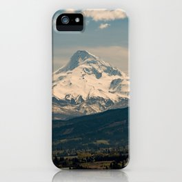 Mountain Valley Pacific Northwest - Nature Photography iPhone Case