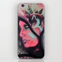 madonna iPhone & iPod Skins featuring Madonna by Alyx Cyr