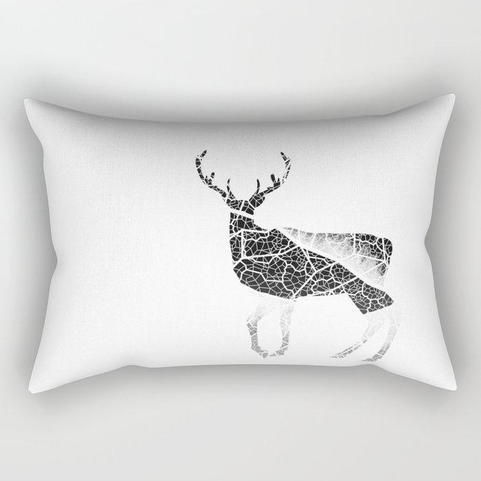 Deer Fiber Rectangular Pillow