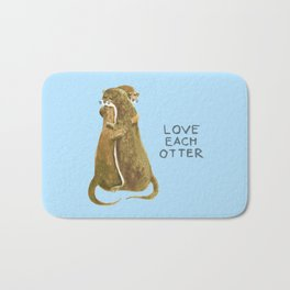 Love each otter Bath Mat