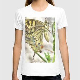 Butterfly Watercolor T-shirt