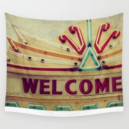 Welcome  Wall Tapestry