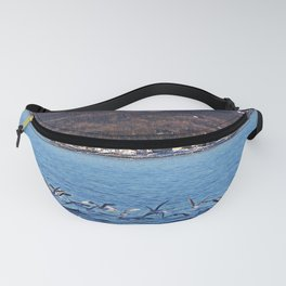Flock Takes Off From Ice Fanny Pack