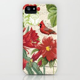 Red Bird Red Life iPhone Case