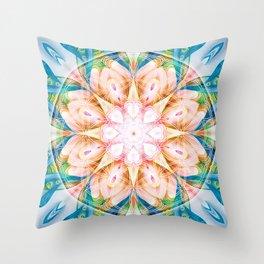 Flower of Life Mandalas 11 Throw Pillow