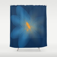 infinity Shower Curtains featuring INFINITY by Sierra Neale