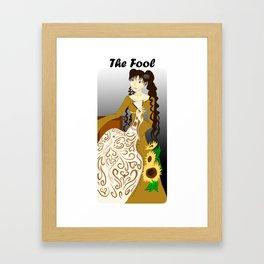 Himawari- The Fool Framed Art Print