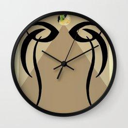 Eye of Priestess Wall Clock