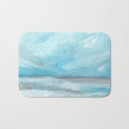 Whirlwind - Stormy Ocean Seascape Bath Mat