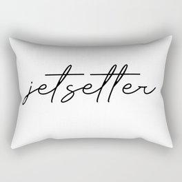 jetsetter Rectangular Pillow