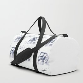 Rice Paddy                                    by Kay Lipton Duffle Bag