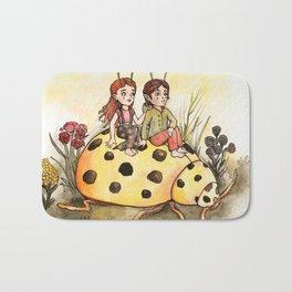 Ladybug Friends Bath Mat