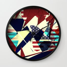 USA - Butterfly Effect Wall Clock