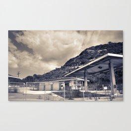 California Gas Station Canvas Print