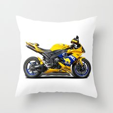 Yamaha R1 Throw Pillow