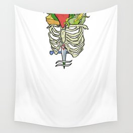 dagger girl Wall Tapestry