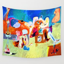 Arshile Gorky Plough and Song Wall Tapestry