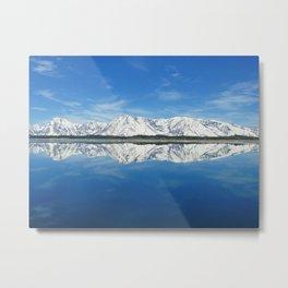 Ice Mountain Metal Print