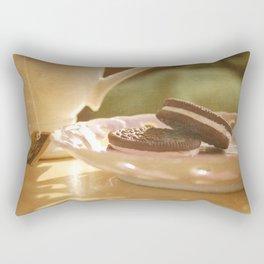 tea + cookies Rectangular Pillow