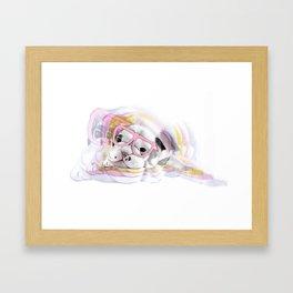 Illustration - PUGGIN Beautiful Framed Art Print