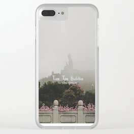 Hong Kong Tian Tan Buddha Clear iPhone Case