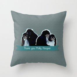 Thank you Molly Hooper Throw Pillow