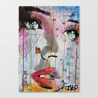 SUDDEN MEANINGS Canvas Print