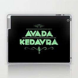 Avada Kedavra Laptop & iPad Skin