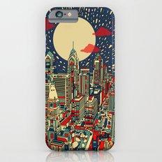 philadelphia city skyline iPhone 6 Slim Case
