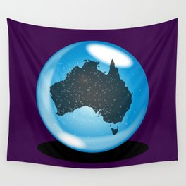 Australia Crystal Ball Wall Tapestry