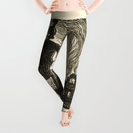 This will kill that // I kill this and that / /Ceci tuera cela Leggings