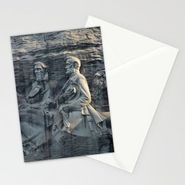 Stone Mountain Carving Stationery Cards